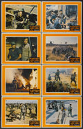 "Movie Posters:War, The Green Berets (Warner Brothers, 1968). Lobby Card Set of 8 (11"" X 14""). War.... (Total: 8 Items)"