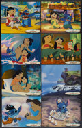 "Movie Posters:Animated, Lilo & Stitch (Buena Vista, 2002). Lobby Card Set of 14 (11"" X 14""). Animated.... (Total: 14 Items)"