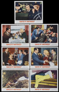 """Movie Posters:Hitchcock, North by Northwest (MGM, R-1966). Lobby Cards (7) (11"""" X 14"""").Hitchcock.... (Total: 7 Items)"""