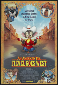 """An American Tail: Fievel Goes West (Universal, 1991). One Sheet (27"""" X 41"""") DS Advance. Animated"""