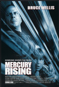 """Movie Posters:Action, Mercury Rising (Universal, 1998). One Sheet (27"""" X 40"""") DS Advance. Action...."""
