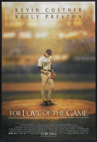 "For Love of the Game (Universal, 1999). One Sheet (27"" X 40"") DS Advance. Sports"