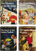 Books:Children's Books, Carolyn Keene. Lot of Four Nancy Drew Mystery Stories FirstEditions,... (Total: 4 Items)