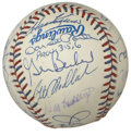 Autographs:Baseballs, 1995 Old Timers Game Multi-Signed Baseball. Signed at an Old TimersAll-Star event in conjunction with the 1995 All-Star fes...