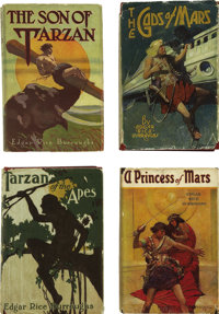 Edgar Rice Burroughs. Vast Single-Owner Collection of Rare First Editions, including: