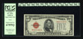 Small Size:Legal Tender Notes, Fr. 1531 $5 1928F Wide I Legal Tender Note. PCGS Superb Gem New 67PPQ.. ...