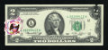 Error Notes:Ink Smears, Fr. 1935-L $2 1976 Federal Reserve Note. Choice CrispUncirculated.. ...
