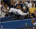 "Autographs:Photos, Derek Jeter ""The Dive"" Signed Oversized Photograph. In what is oneof the most memorable defensive plays in recent memory, ..."
