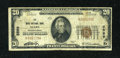 National Bank Notes:Pennsylvania, Mars, PA - $20 1929 Ty. 1 The Mars NB Ch. # 5599. ...