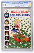 Bronze Age (1970-1979):Humor, Richie Rich Dollars and Cents #42 File Copy (Harvey, 1971) CGCNM/MT 9.8 White pages....