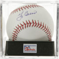 Autographs:Baseballs, Yogi Berra Single Signed Baseball, PSA Mint+ 9.5. Near flawlesssingle from the quirky Hall of Fame catcher available here. ...