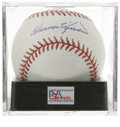 Autographs:Baseballs, Harmon Killebrew Single Signed Baseball, PSA Gem Mint 10. Here wepresent an exceptional Gem Mint example of Killer's Hall ...