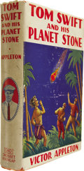 Books:First Editions, Victor Appleton. Tom Swift and His Planet Stone orDiscovering the Secret of Another World. New York: Grosset& ...