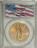 Modern Bullion Coins, 1999 G$50 One-Ounce Gold Eagle MS69 PCGS. 9-11-01 WTC Ground ZeroRecovery.. ...