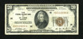 Small Size:Federal Reserve Bank Notes, Fr. 1870-H $20 1929 Federal Reserve Bank Note. Very Fine.. ...