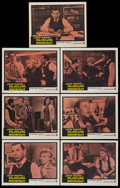 """Movie Posters:Drama, -30- (Warner Brothers, 1959). Lobby Cards (7) (11"""" X 14""""). Known as Deadline Midnight in the UK. Drama.... (Total: 7 Items)"""
