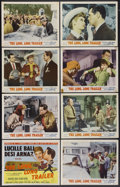 "Movie Posters:Comedy, The Long, Long Trailer (MGM, 1954). Lobby Card Set of 8 (11"" X14""). Comedy.... (Total: 8 Items)"
