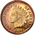 Proof Indian Cents, 1876 1C PR67 Red and Brown NGC....