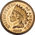Proof Indian Cents, 1859 1C PR65 NGC....