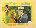 """Movie Posters:Drama, A Woman of Affairs (MGM, 1928). Lobby Cards (2) (11"""" X 14"""")....(Total: 2 Items)"""
