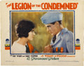 "Movie Posters:War, The Legion of the Condemned (Paramount, 1928). Lobby Card (11"" X14"")...."