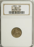 Seated Dimes: , 1852 10C MS61 NGC. NGC Census: (6/49). PCGS Population (3/76).Mintage: 1,535,500. Numismedia Wsl. Price for NGC/PCGS coin ...