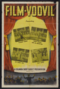 "Movie Posters:Short Subject, Film-Vodvil Stock Poster (Columbia, 1945). One Sheet (27"" X 41"").Short Subject...."