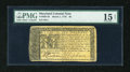 Colonial Notes:Maryland, Maryland March 1, 1770 $6 PMG Choice Fine Net 15....