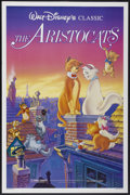 "Movie Posters:Animated, The Aristocats (Buena Vista, R-1987). One Sheet (27"" X 41""). Animated...."