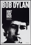 """Movie Posters:Documentary, Don't Look Back (Leacock-Pennebaker, R-1998). One Sheet (27"""" X39.5""""). Documentary...."""