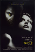 "Movie Posters:Horror, Wolf (Columbia, 1994). One Sheet (27"" X 39.5"") DS. Horror...."