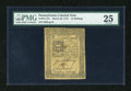 Colonial Notes:Pennsylvania, Pennsylvania March 20, 1773 14s PMG Very Fine 25....