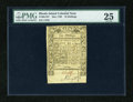 Colonial Notes:Rhode Island, Rhode Island May 1786 10s PMG Very Fine 25....