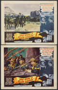 """Movie Posters:Western, She Wore a Yellow Ribbon (RKO, 1949). Autographed Lobby Card and Lobby Card (11"""" X 14""""). Western.... (Total: 2 Items)"""