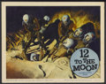 "Movie Posters:Science Fiction, 12 to the Moon (Columbia, 1960). Lobby Card (11"" X 14""). Science Fiction...."