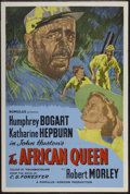 """Movie Posters:Adventure, The African Queen (United Artists, R-1950s). British One Sheet (27""""X 40""""). Adventure...."""