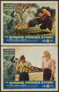 "Movie Posters:Crime, The Bonnie Parker Story (American International, 1958). Lobby Cards(2) (11"" X 14""). Crime.... (Total: 2 Items)"