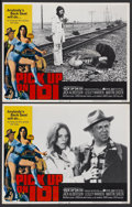 "Movie Posters:Bad Girl, Pick Up on 101 (American International, 1972). Lobby Cards (2) (11""X 14""). Bad Girl.... (Total: 2 Items)"