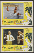 """Movie Posters:Sexploitation, Sun Lovers Holiday (Astor Pictures, 1950s). Lobby Cards (2) (11"""" X14""""). Sexploitation.... (Total: 2 Items)"""