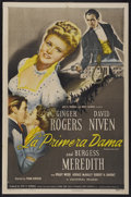 "Movie Posters:Drama, Magnificent Doll (Universal, 1946). Spanish Language One Sheet (27"" X 41""). Drama...."