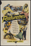 "Movie Posters:Short Subject, Warner Brothers Featurettes Stock (Warner Brothers, 1951). OneSheet (27"" X 41""). Short Subject...."