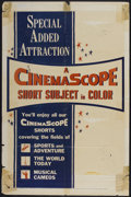 "Movie Posters:Short Subject, CinemaScope Stock Poster (20th Century Fox, 1955). One Sheet (27"" X41""). Short Subject...."