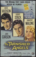 "Movie Posters:Drama, The Tarnished Angels (Universal International, 1958). One Sheet (24"" X 38""). Drama...."
