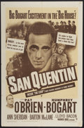 """Movie Posters:Crime, San Quentin (Warner Brothers, R-1950). One Sheet (27"""" X 41"""").Crime...."""