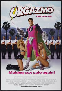 "Orgazmo (Rogue Pictures, 1998). One Sheet (27"" X 40"") Advance. Comedy"