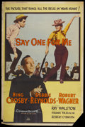 "Movie Posters:Musical, Say One for Me (20th Century Fox, 1959). Poster (40"" X 60"") StyleZ. Musical...."