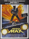 "Movie Posters:Science Fiction, Mad Max (Warner-Columbia, 1980). French Grande (45"" X 62""). ScienceFiction...."