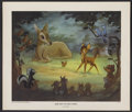 "Movie Posters:Animated, Bambi (Buena Vista, R-1960s). Fine Arts Print (18"" X 21"").Animated...."