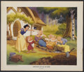 """Movie Posters:Animated, Snow White and the Seven Dwarfs (Buena Vista, R-1960s). Fine Art Print (18"""" X 21""""). Animated...."""
