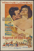 "Movie Posters:Adventure, Legend of the Lost (United Artists, 1957). One Sheet (27"" X 41"").Adventure...."